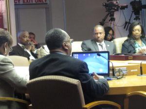 Steele at Detroit City Council
